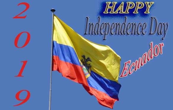 Happy Ecuador Independence Day 2019