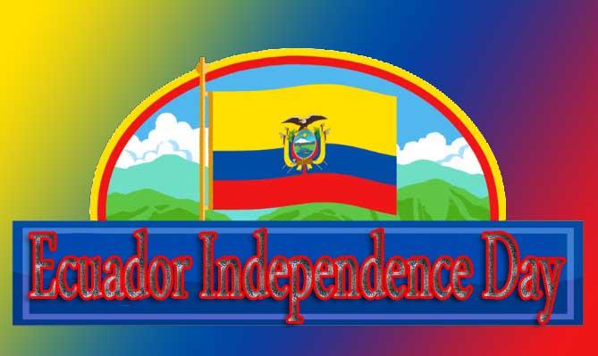 Happy Ecuador Independence Day