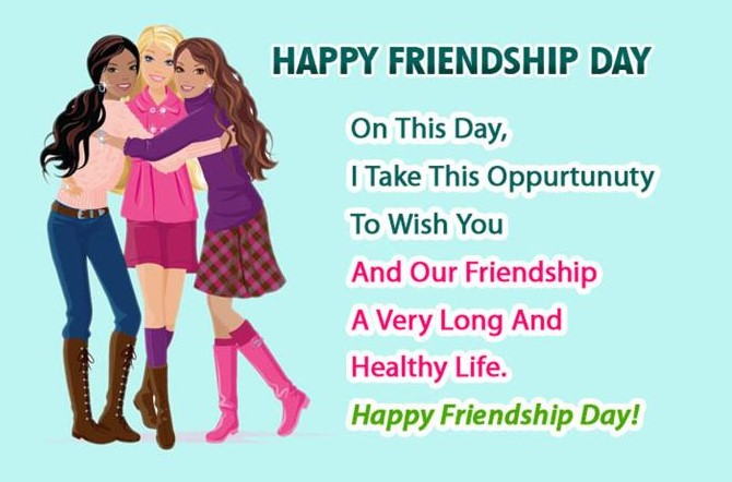 Happy Friendship Day SMS in Pictures & Images