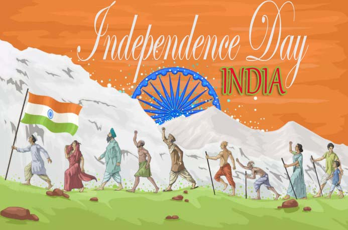 Happy Independence Day of India 2019 Wallpaper HD
