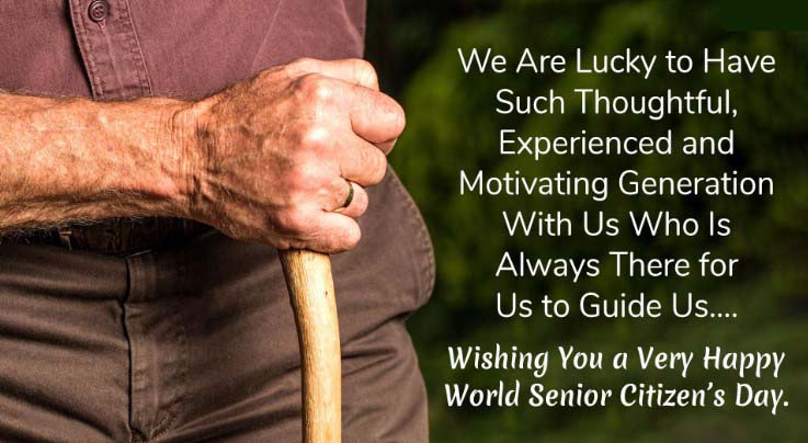 Happy World Senior Citizens Day Wishes