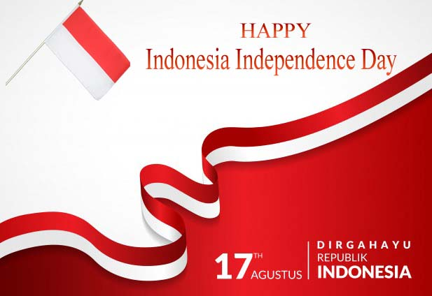 Indonesia Independence Day 2019 Greetings Card Download