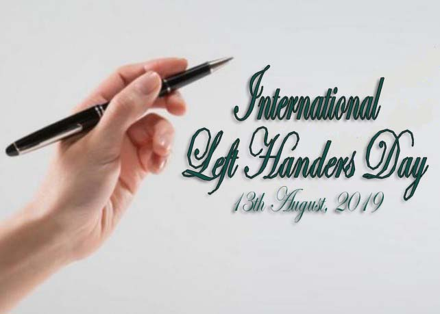 International Left handers Day 2019