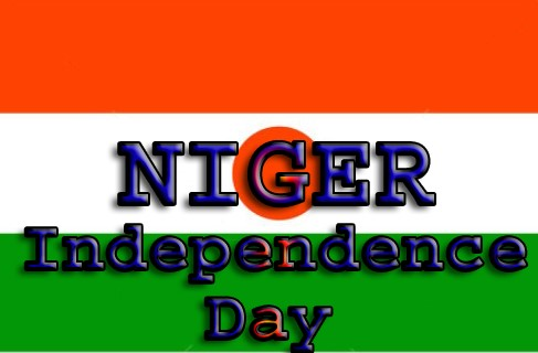 Niger Independence Day Picture with Flag