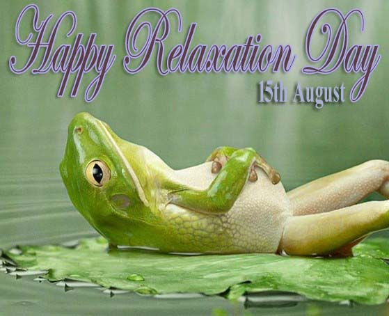 Relaxation Day 2019 Image - National Relaxation Day Picture