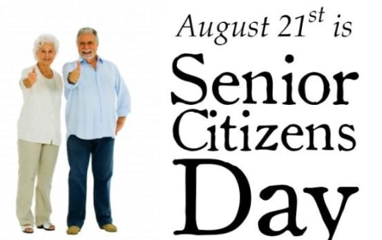 Senior Citizen Day 2019 Logo