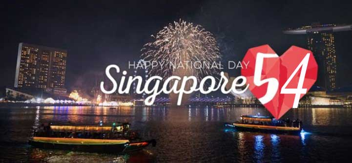 Singapore's 54th National Day - Singapore Independence Day 2019 Image, Picture, Pic, Photos