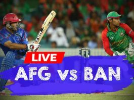 BAN VS AFG Live T20 Match 2019