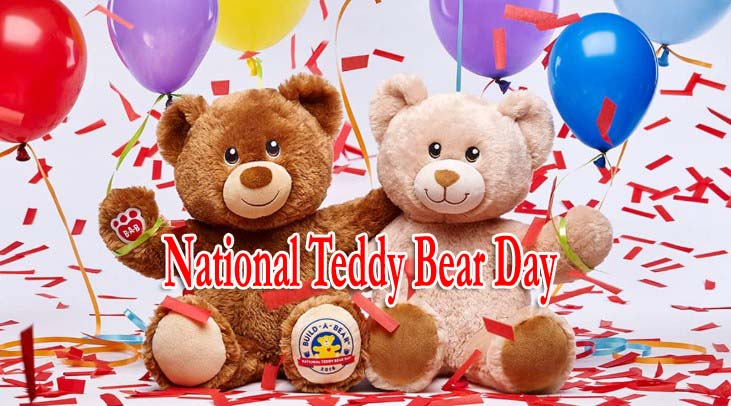 Happy National Teddy Bear Day 2019