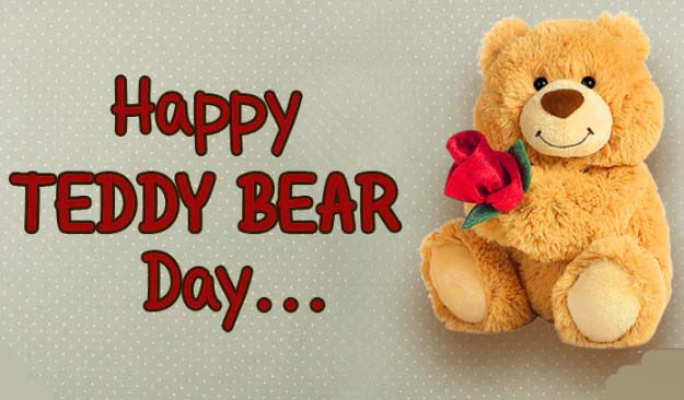 Happy Teddy Bear Day 2019