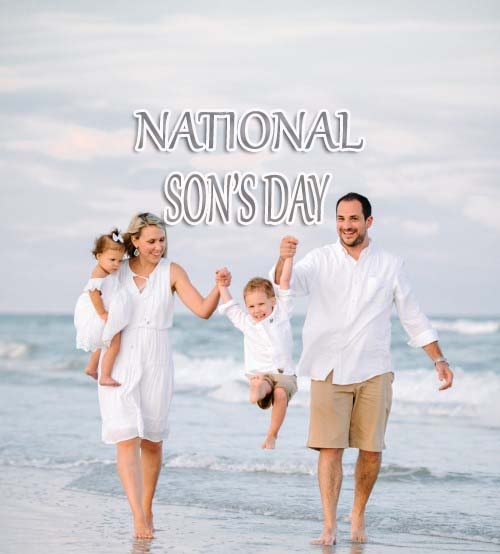 National Sons Day – 29th September National Sons Day 2019