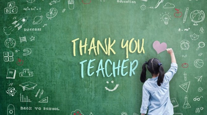Teachers Day 2019 - Thank You Wishes, Messages, Greetings in Picture & Images