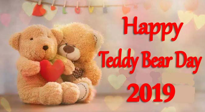 Teddy Bear Day 2019
