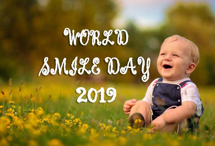 4th October World Smile Day 2019