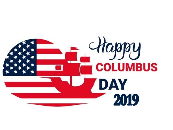 Columbus Day – 14th October Happy Columbus Day 2019