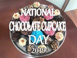 National Chocolate Cupcake Day 2019