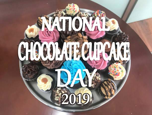 National Chocolate Cupcake Day 2019