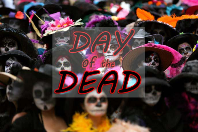 Day of the Dead 2019 - November 2 - Día de Muertos 2019 in Mexico