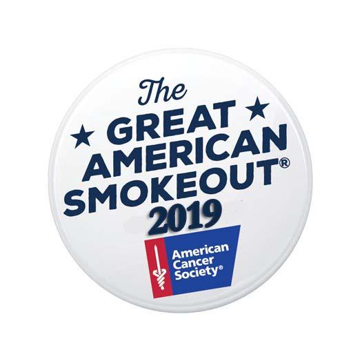 Great American Smokeout 2019
