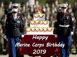 Happy Marine Corps Birthday 2019