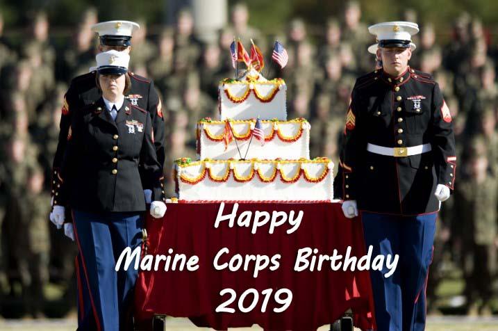 Happy Marine Corps Birthday 2019