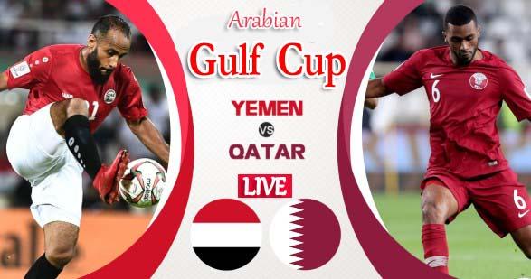 Yemen vs Qatar Live 2019