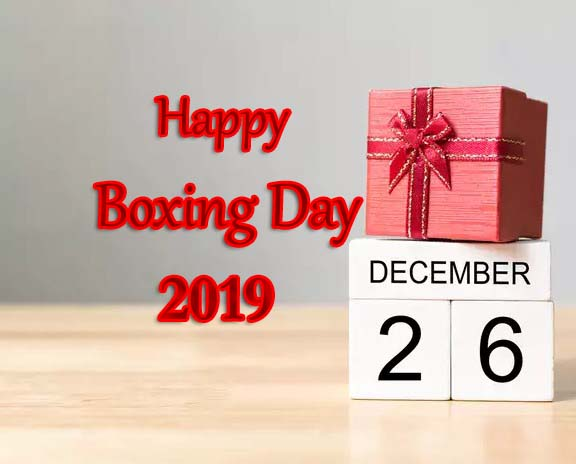 Happy Boxing Day 2019