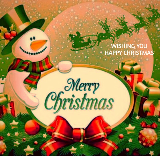 Happy Christmas Day 2019 Greetings Card Images