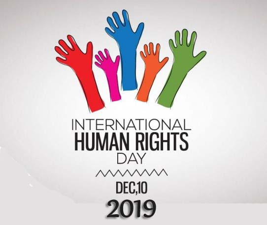 Human Rights Day – 10th December Happy International Human Rights Day 2019
