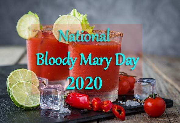 National Bloody Mary Day 2020