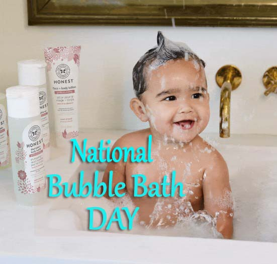 National Bubble Bath Day
