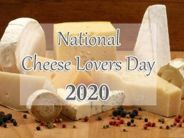 National Cheese Lover's Day 2020