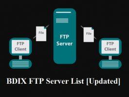 BDIX FTP Server List 2020