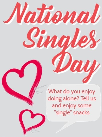 HAPPY SAD National Singles Awareness Day 2020