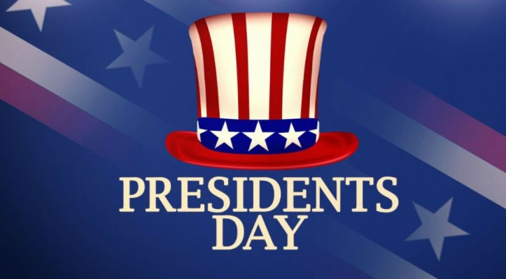 Happy Presidents Day 2020