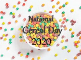 National Cereal Day 2020