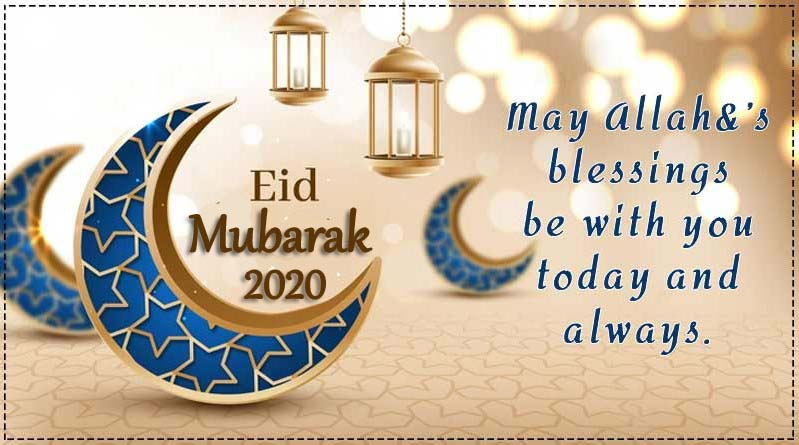 Happy Eid Mubarak Wishes & Messages Reply 2020