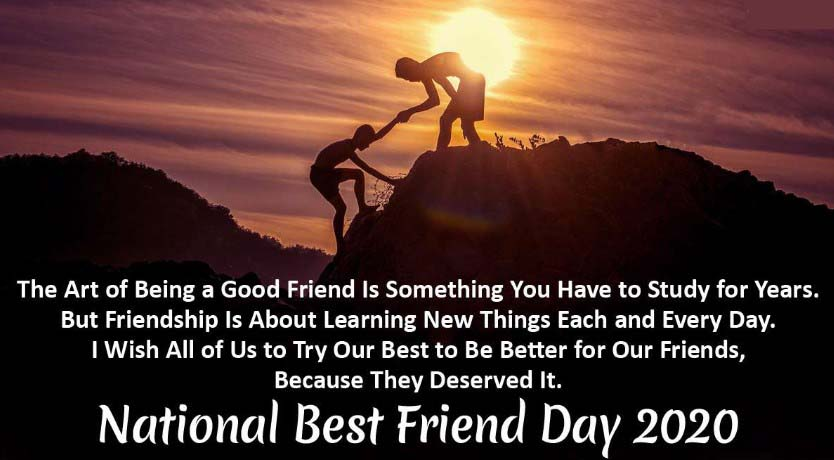 National Best Friend Day 2020 Wishes, Messages Pictures