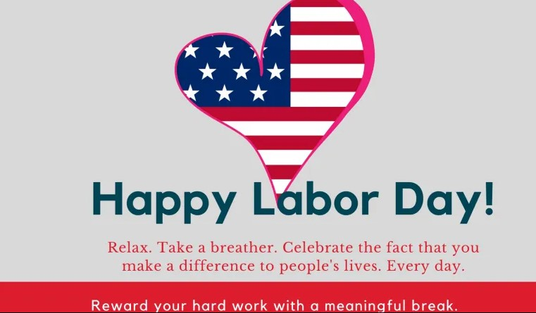 Happy Labor Day Wishes Greetings Card, Gifts