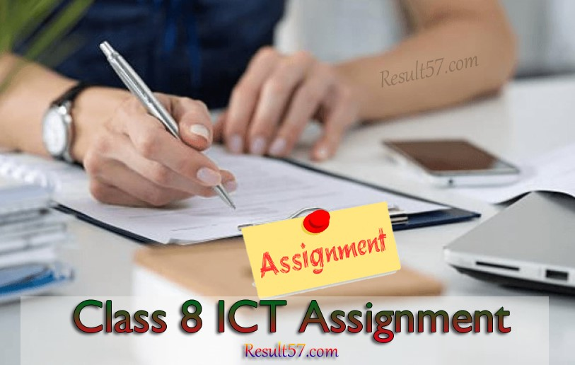 Class 8 ICT Assignment Answer