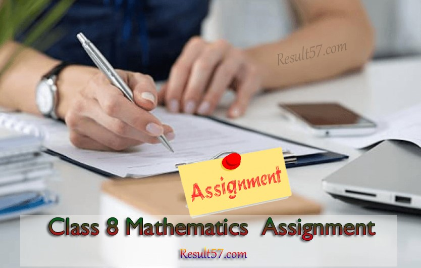 Class 8 Mathematics Assignment Answer [Class 8 Math Solution]
