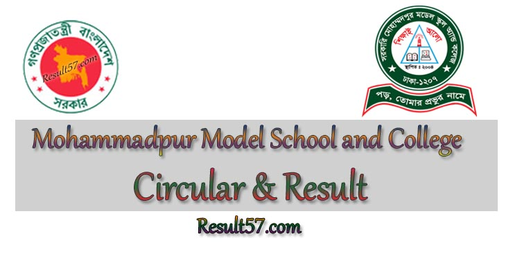 Govt Mohammadpur Model School and College Admission