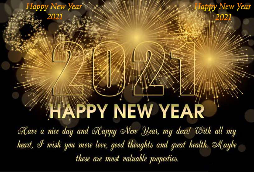 New Year 2021 - Happy New Year 2021 Picture, Photo, Images, Pics & Wallpaper HD