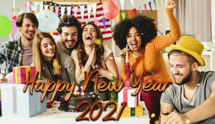 Short Happy New Year 2021 SMS, Wishes, Messages, Pics for Best Friend