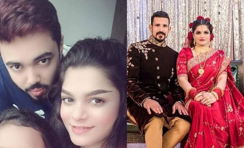 Cricketer Nasir Hossain, Newly Married Wife Tamima Tammi and Ex-Husband Rakib Bhaiya Viral Pic