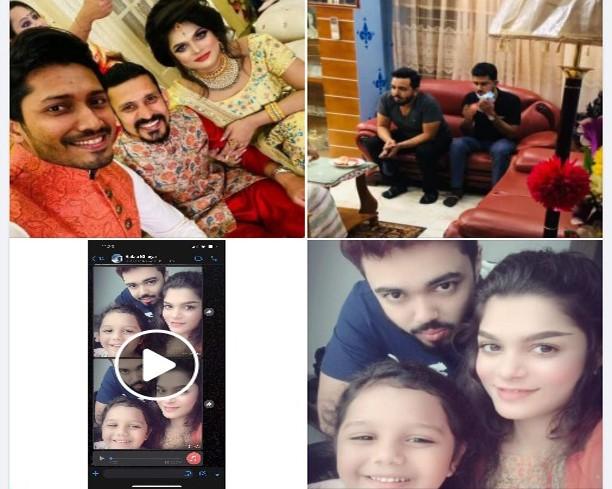 Cricketer Nasir, his Wife Tamima & Ex-Husband Rakib Viral Video Link, Pic, FB Status Images