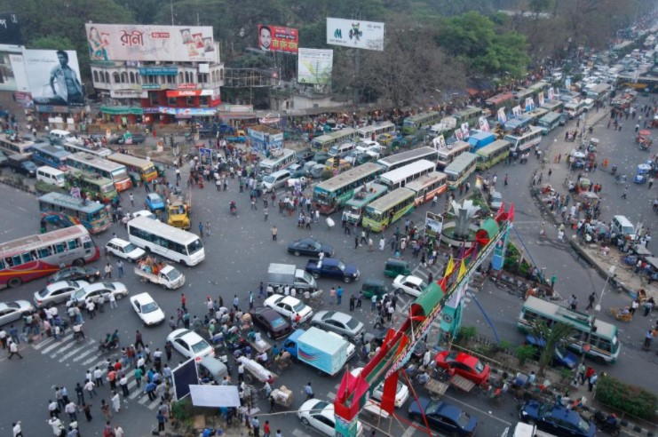 Dhaka City Local Bus Route