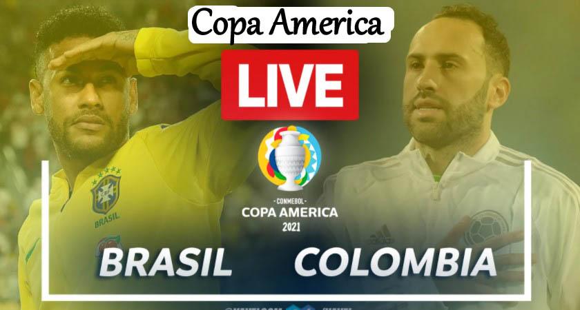 Brazil vs Colombia Live - Copa America live stream
