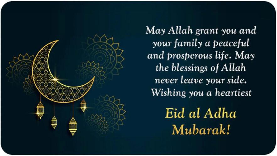 Eid al Adha Mubarak Wishes Messages